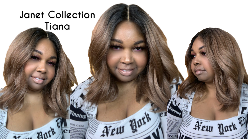 Janet Collection Tiana Wig Review