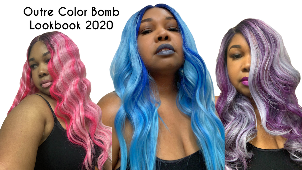 Outre Color Bomb Lookbook 2020