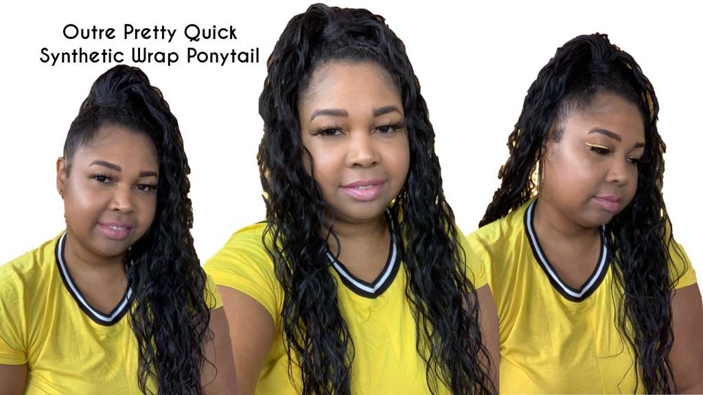Outre Pretty Quick Synthetic Wrap Ponytail Review