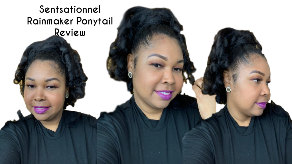 Sensationnel Rain Maker Ponytail Review
