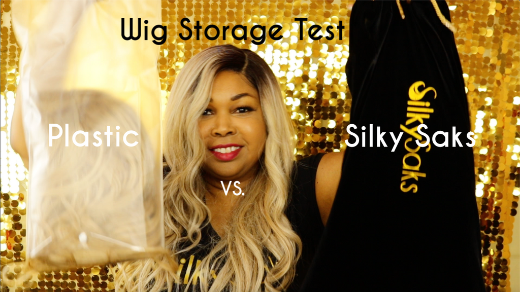 CUT DOWN ON YOUR WIGS SHEDDING & TANGLING| Silky Sak Wig Storage Test