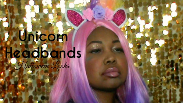 Unicorn Headbands (Halloween Looks)