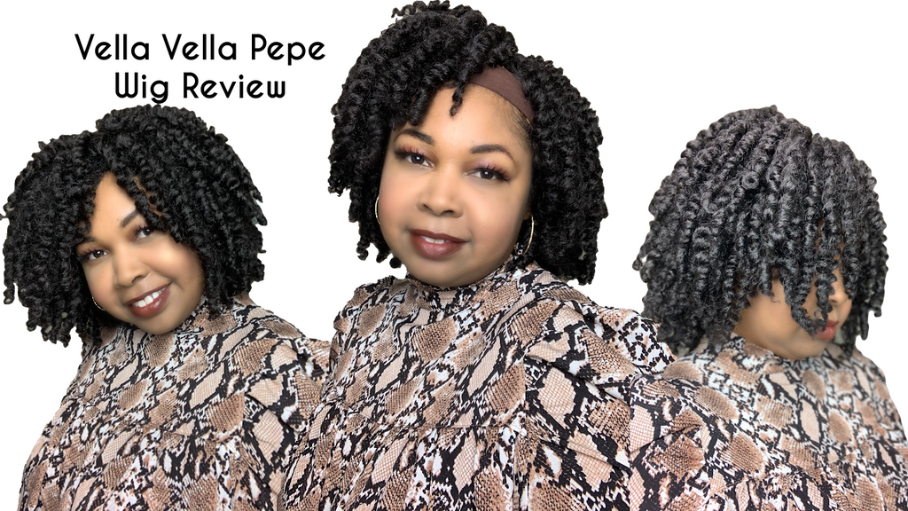 NATURAL CURLS| Vella Vella Pepe Wig Review