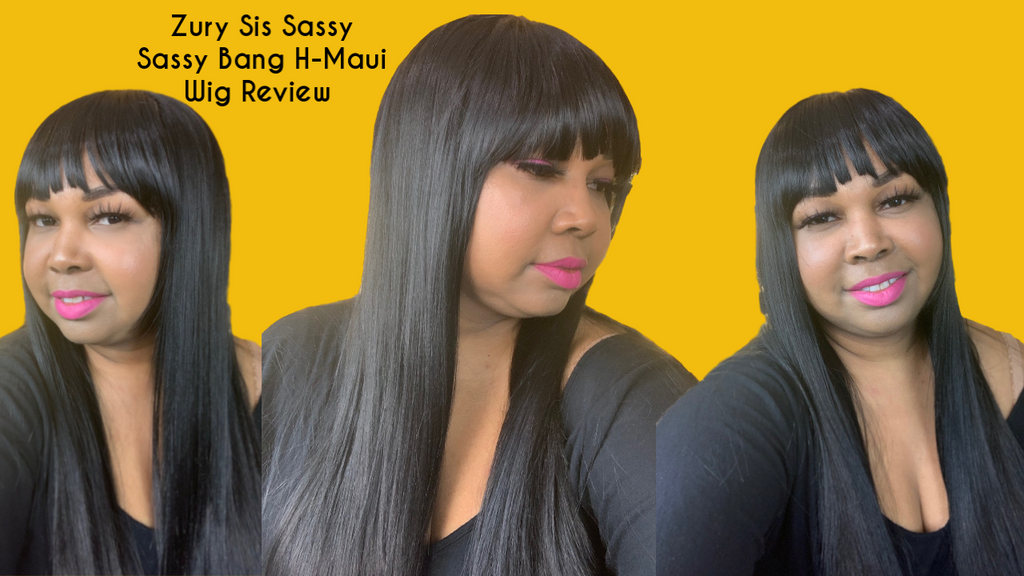 Zury Sis Sassy Bang H Maui Wig Review