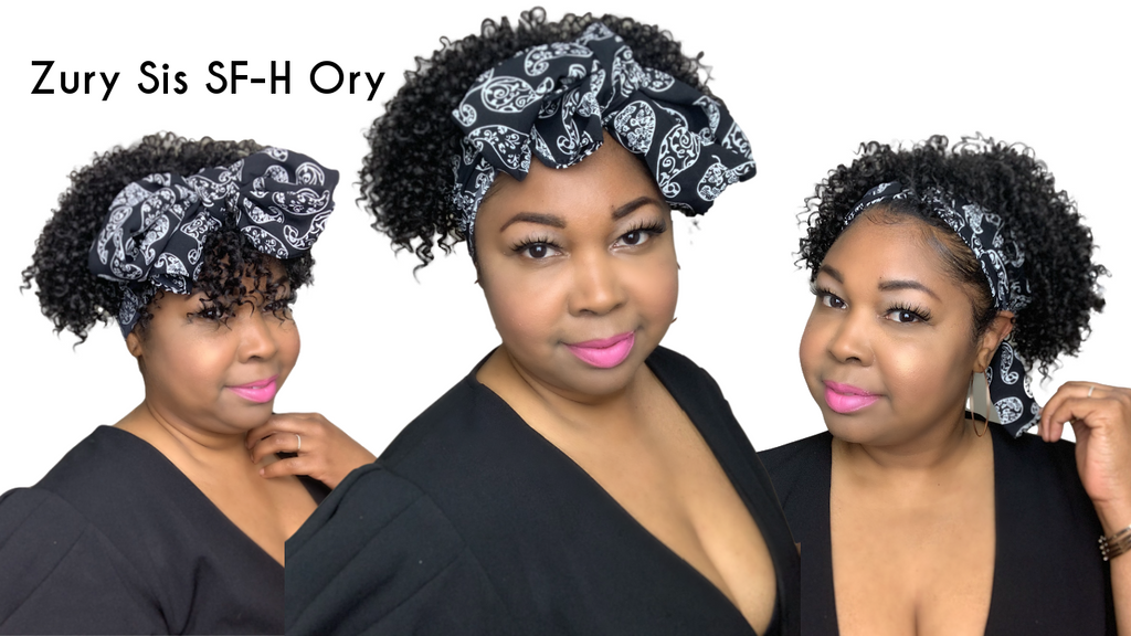 NEW SCARF WIG| Zury Sis Sf-H Ory Wig Review