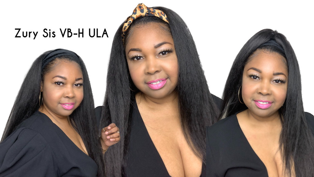SYNTHETIC HEADBAND WIG| Zury Sis VB-H Ula Wig Review