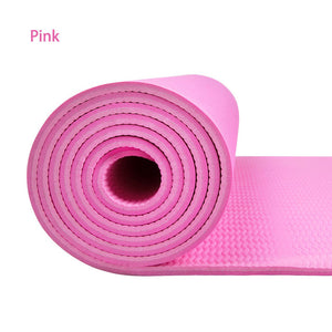 6MM Non-slip Yoga Mats For Fitness