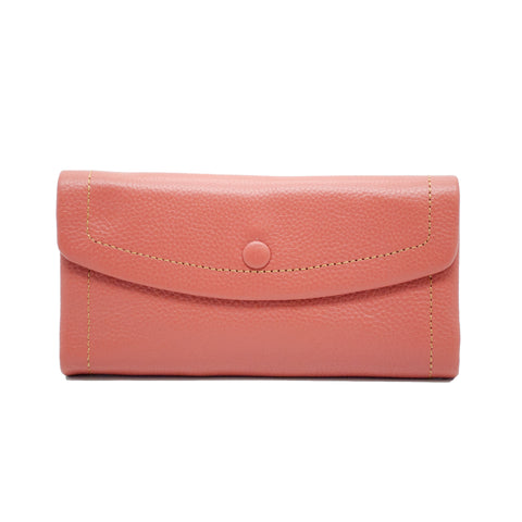 Frances Wallet (Long) w/ Curve Flap