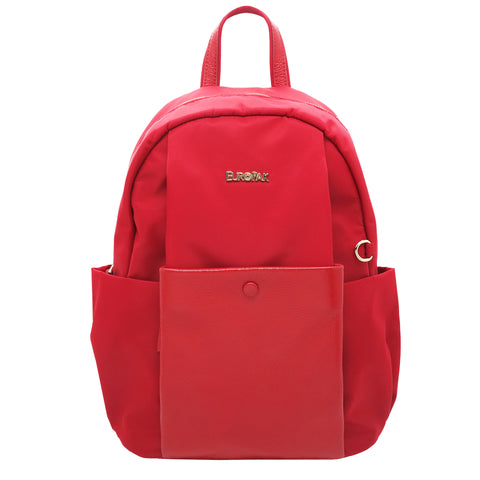 Jenina Backpack with Covered Button