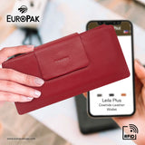 Leila Plus RFID Long Wallet