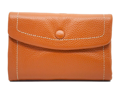 Frances Wallet (Short) w/ Curve Flap