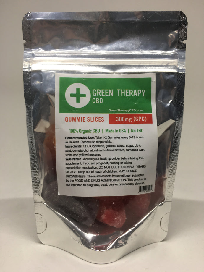 CBD Gummie Slices 300MG