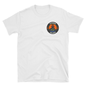Orange Leaf Short-Sleeve Unisex T-Shirt
