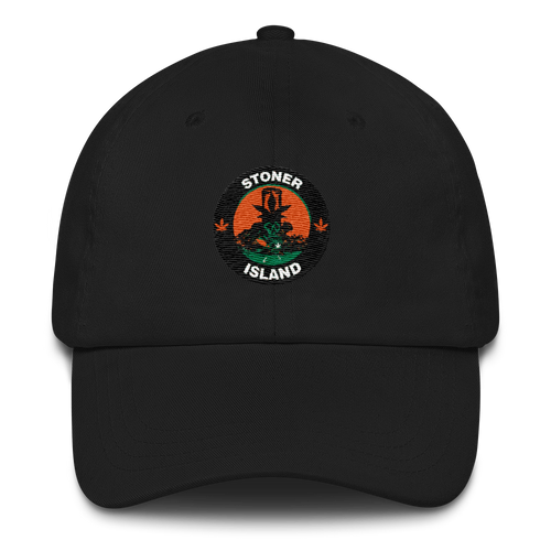 Orange Leaf Dad hat
