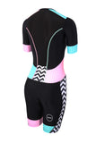 WOMEN'S ACTIVATE PLUS SHORT SLEEVE TRISUIT - ZEBRA FLY
