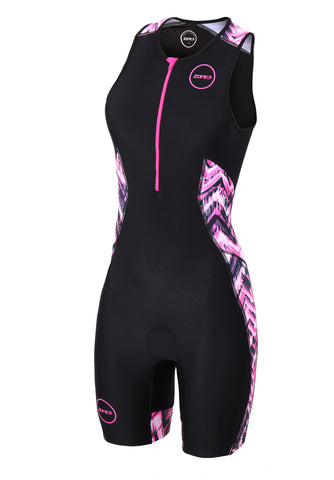 WOMEN'S ACTIVATE PLUS TRISUIT - ELECTRIC VIBE