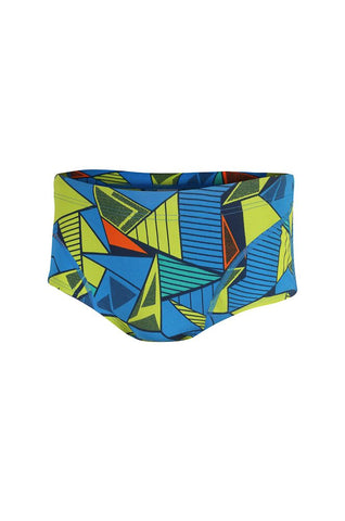 Men's Prism 2.0 Brief Shorts - Navy/Yellow