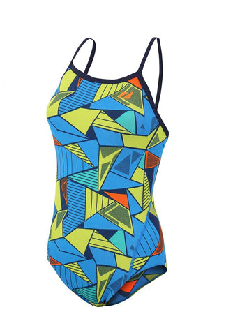 Women's Prism 2.0 Strap Back Costume - Blue-Yellow