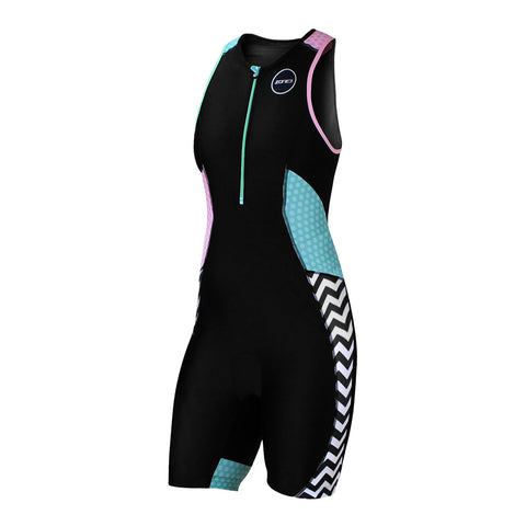 WOMEN'S ACTIVATE PLUS TRISUIT - ZEBRA FLY