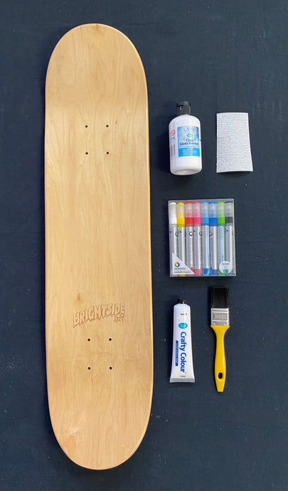 DIY - Paint Your Own Skateboard Pack