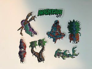 BrightSide Art Sticker Pack #2