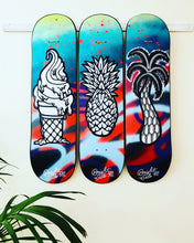 SOLD! Original: Summer Series #1 - skateboard art