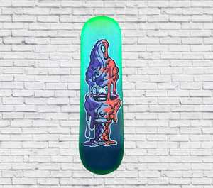 Original: Ice Cream Split - skateboard