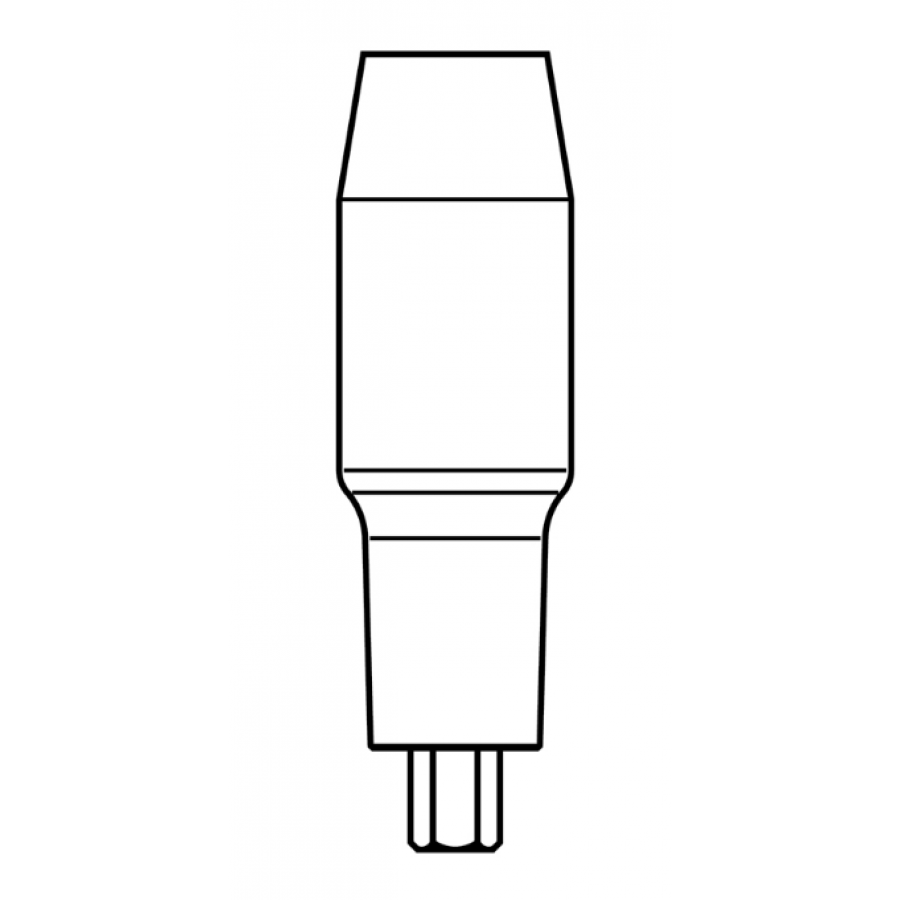 Cylinder Abutment for 4.8mm Implant, Standard Platform