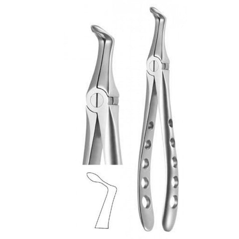 Lower Root Atraumatic X-TRAC forceps - 4515