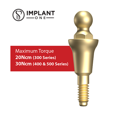 Implant One Abutment Info Sheets