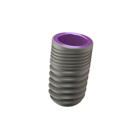 Implant One 400 Series 4.5 mm Standard Thread implant