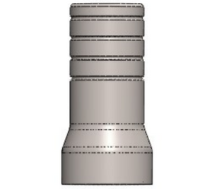 Verification Cylinder for Multi-Unit Abutment (Titanium sleeve)