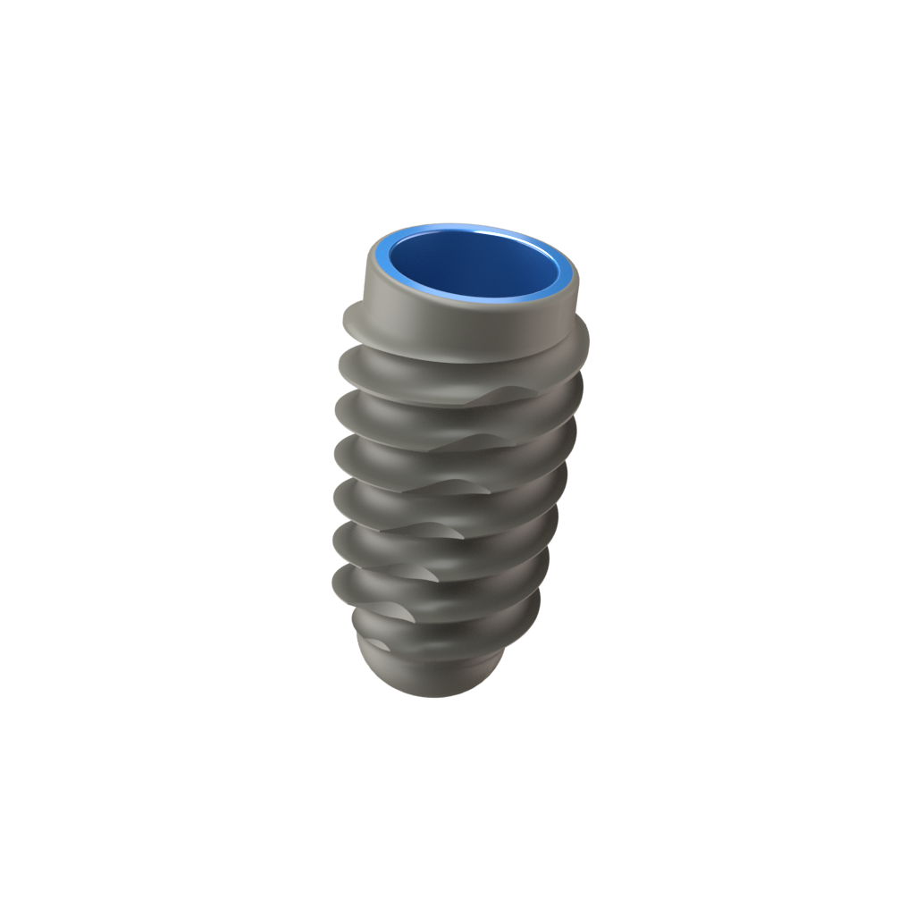 Implant One 300 Series 4.1 mm Wide Thread implant