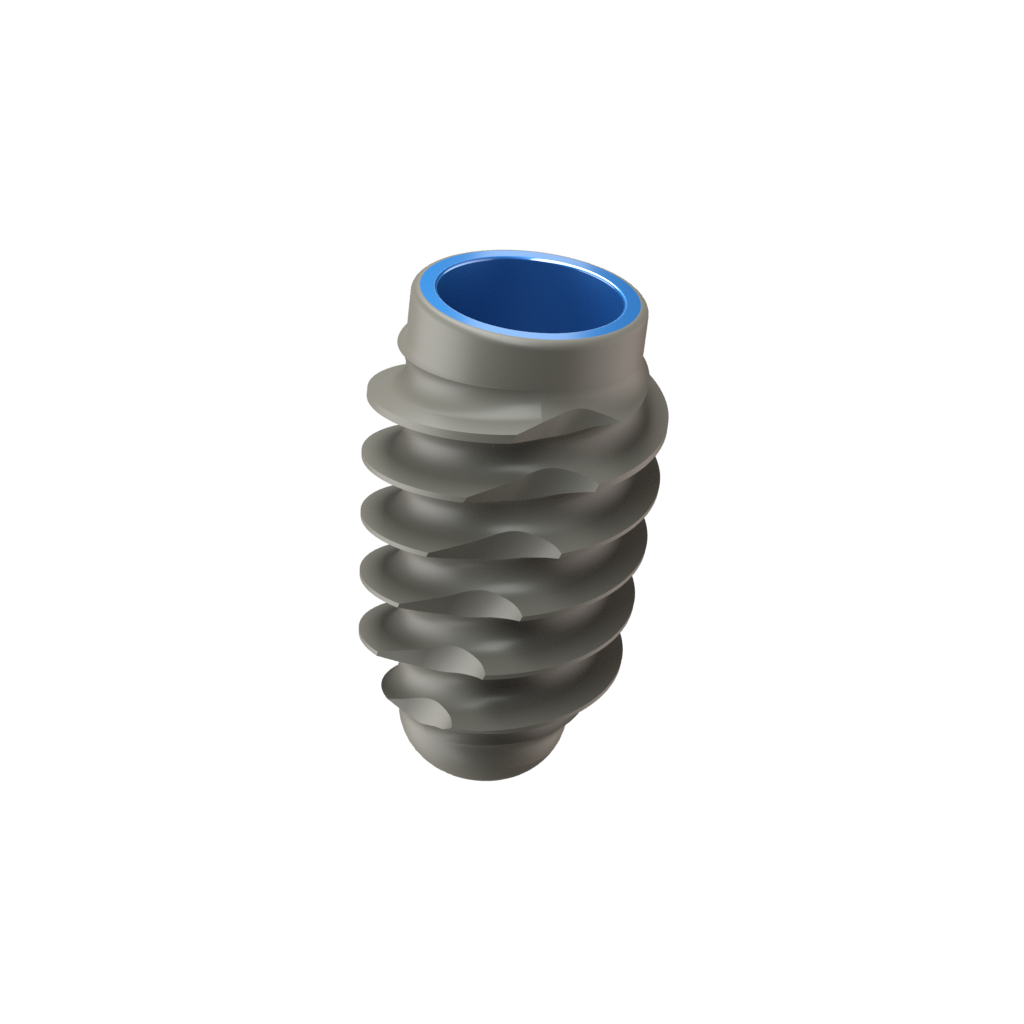 Implant One 300 Series 4.5 mm Wide Thread implant