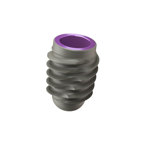 Implant One 400 Series 5.5 mm Wide Thread implant