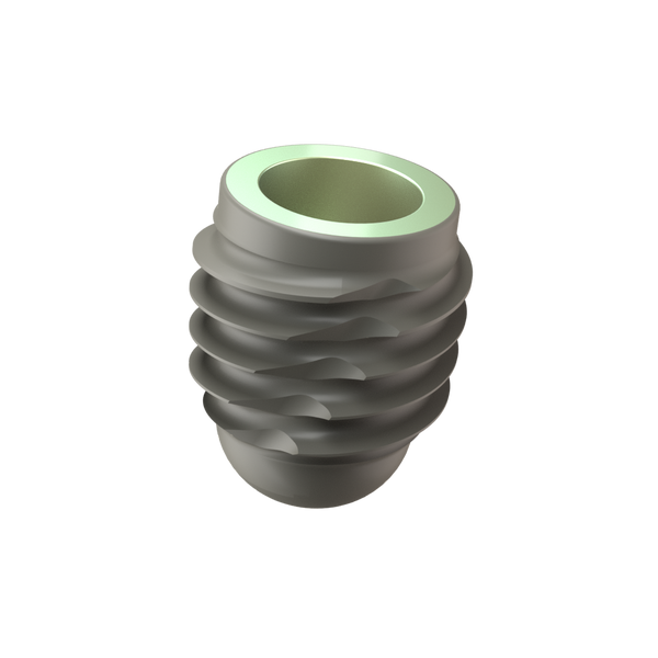 Implant One 500 Series 6.5 mm Wide Thread implant
