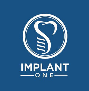 Implant-One 100 Series Custom Abutment Blank, 8 mm length, with AS380 Screw