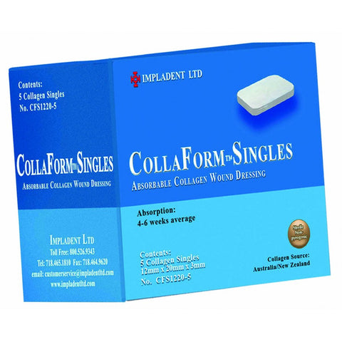 CollaForm Singles 12 x 20 x 3 mm