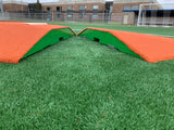 "Two Piece 8"" Full Length Game Mound"