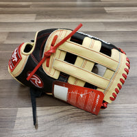 "Rawlings Heart of the Hide PROBH34 13.00"" Outfield Glove - Sample"