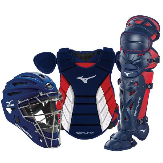 "Mizuno Samurai Catcher's Set - NOCSAE Certified - Adult 15"" (Ages 16+)"