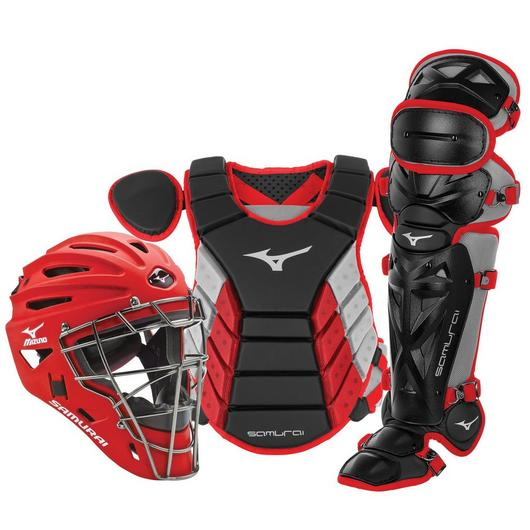 "Mizuno Samurai Catcher's Set - NOCSAE Certified - Adult 16"" (Ages 16+)"
