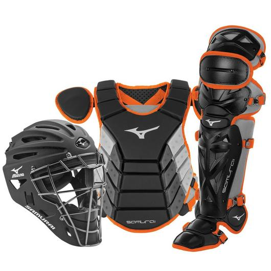 "Mizuno Samurai Catcher's Complete Set - NOCSAE Certified - Youth 14"" (Ages 9-12)"