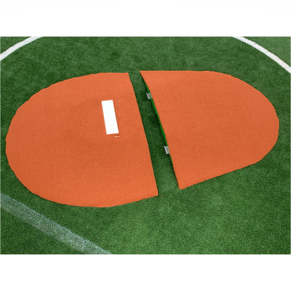 "Two Piece 10"" Full Length Game Mound"