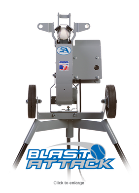 Pro Blast Attack Baseball Pitching Machine