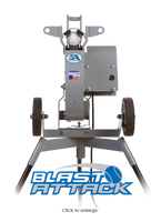 Blast Attack Baseball Pitching Machine