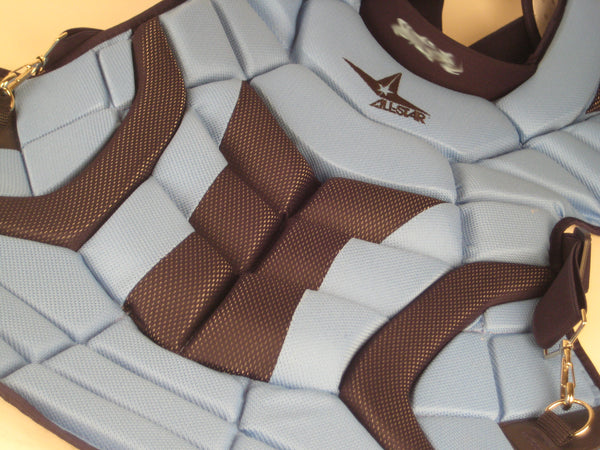 "All-Star Bull Pen CP30PRO Chest Protector 1"" Extra Long"