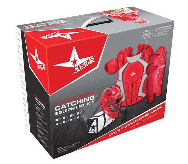 All-Star Player's Series Catching Kit - SEI & NOCSAE Certified - Youth