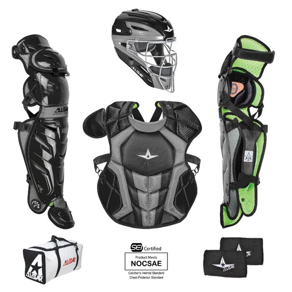 All-Star S7 AXIS Pro Catching Kit - SEI & NOCSAE Certified - Intermediate (Ages 12-16)