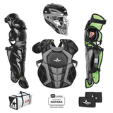 All-Star S7 AXIS Pro Catcher's Complete Set - NOCSAE Certified - Youth (Ages 9-12)